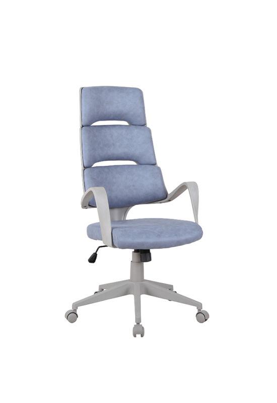VISAR Irodai szék,  kék-szürke/szürke