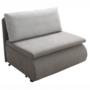 Kép 1/18 - KENET Kinyitható fotel,  szürke-barna Taupe