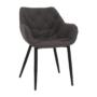 Kép 1/18 - FEDRIS Dizájnos fotel,  szürke anyag