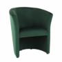 Kép 1/17 - CUBA Fotel,  smaragd anyag