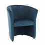 Kép 1/16 - CUBA Fotel,  kék anyag