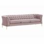 Kép 1/9 - NIKOL Luxus 3-ülés,  rózsaszín [3 ML]