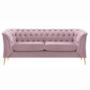 Kép 1/5 - rendelésre Luxus 2-ülés,  rózsaszín [NIKOL 2 ML]