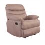 Kép 1/27 - LAMBERT Állítható masszázs  fotel,  fekete bársony anyag