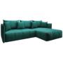 Kép 1/28 - LENY Univerzális ülőgarnitúra,  smaragd [ROH]