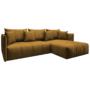 Kép 1/4 - LENY Univerzális ülőgarnitúra,  mustár színű [ROH]