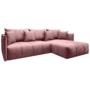 Kép 1/4 - LENY Univerzális ülőgarnitúra,  rózsaszín [ROH]