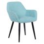 Kép 1/16 - LACEY Design fotel,  mentolos/fekete