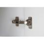 Kép 4/9 - LYNATET Komód,  fehér extra magas fényű HG/tölgy sonoma trufla [TYP 34]