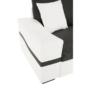 Kép 30/31 - OREGON kis sarok, fehér textilbőr