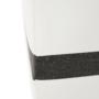 Kép 31/31 - OREGON kis sarok, fehér textilbőr