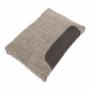 Kép 19/23 - BONA Ülőgarnitúra,  bronz zsenília berlin/barna textilbőr [NEW]
