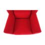 Kép 9/18 - CHARLOT Füles fotel,  piros