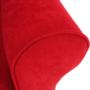 Kép 10/18 - CHARLOT Füles fotel,  piros