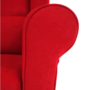 Kép 11/18 - CHARLOT Füles fotel,  piros