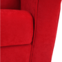 Kép 12/18 - CHARLOT Füles fotel,  piros