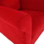 Kép 14/18 - CHARLOT Füles fotel,  piros
