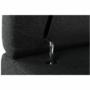 Kép 19/28 - AKRON Sarokülőgarnitúra - jobb oldali kivitel,  fehér textilbőr/zsenília Inari sötétszürke