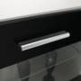 Kép 8/32 - LEO Nappali sor LED világítással,fehér/fekete- extra magas fényű HG,  Nappali sor LED világítással,fehér/fekete- extra magas fényű HG
