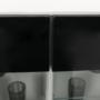 Kép 9/32 - LEO Nappali sor LED világítással,fehér/fekete- extra magas fényű HG,  Nappali sor LED világítással,fehér/fekete- extra magas fényű HG