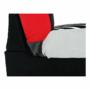 Kép 17/18 - ALABAMA Kanapé ágyfunkcióval és ágyneműtartóval,szövet piros,  Kanapé ágyfunkcióval és ágyneműtartóval,szövet piros