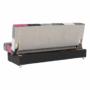Kép 8/19 - ALABAMA Kanapé ágyfunkcióval és ágyneműtartóval,szövet rózsaszín,  Kanapé ágyfunkcióval és ágyneműtartóval,szövet rózsaszín