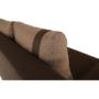 Kép 15/27 - BOLIVIA Kanapé,  csokoládé/világos barna