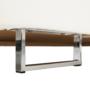 Kép 5/24 - BUTON Sarokülőgarnitúra ágyfunkcióval és ágyneműtartóval,   balos kivitelben,textilbőr fehér