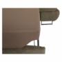 Kép 19/22 - BUTON Sarokülőgarnitúra ágyneműtartóval - balos kivitel,   világosbarna szövet [R]