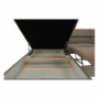 Kép 20/22 - BUTON Sarokülőgarnitúra ágyneműtartóval - balos kivitel,  világosbarna szövet [R]