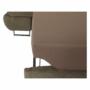 Kép 18/22 - BUTON Sarokülőgarnitúra ágyfunkcióval és ágyneműtartóval,   jobbos kivitelben, világos  barna szövet