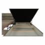 Kép 20/22 - BUTON Sarokülőgarnitúra ágyfunkcióval és ágyneműtartóval,   jobbos kivitelben, világos  barna szövet