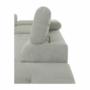 Kép 9/28 - BUTON Kinyitható ülőgarnitúra - szövet világosszürke,  jobbos [R]