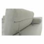 Kép 10/28 - BUTON Kinyitható ülőgarnitúra - szövet világosszürke,  jobbos [R]