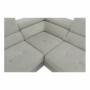 Kép 14/28 - BUTON Kinyitható ülőgarnitúra - szövet világosszürke,  jobbos [R]