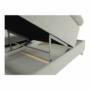Kép 15/28 - BUTON Kinyitható ülőgarnitúra - szövet világosszürke,  jobbos [R]