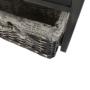 Kép 12/18 - DARKIE Komód - 1 kosár - 1 fiók,  szürke-barna [1]