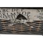 Kép 7/22 - DARKIE Komód - 2 kosár - 1 fiók,  szürke-barna [2]