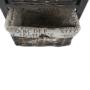 Kép 8/22 - DARKIE Komód - 2 kosár - 1 fiók,  szürke-barna [2]