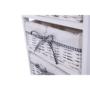 Kép 19/21 - RUBY Komód - 4 fiókos,  régi fehér [4]