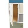 Kép 21/21 - MONET Fehér színű komód,  színes fiókokkal [1]