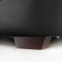 Kép 19/23 - BITER U alakú ülőgarnitúra - fekete műbőr,  jobbos [U]