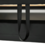 Kép 21/23 - BITER U alakú ülőgarnitúra - fekete műbőr,  jobbos [U]