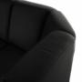Kép 20/23 - BITER U alakú ülőgarnitúra - fekete műbőr,  balos [U]