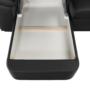 Kép 23/23 - BITER U alakú ülőgarnitúra - fekete műbőr,  balos [U]