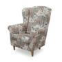 Kép 7/7 - ASTRID Fotel + puff,patchwork Viorica 1,  Fotel + puff,patchwork Viorica 1