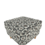 Kép 10/21 - ASTRID Fotel + puff,patchwork N1,  Fotel + puff,patchwork N1