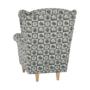 Kép 12/21 - ASTRID Fotel + puff,patchwork N1,  Fotel + puff,patchwork N1