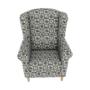 Kép 13/21 - ASTRID Fotel + puff,patchwork N1,  Fotel + puff,patchwork N1