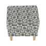 Kép 14/21 - ASTRID Fotel + puff,patchwork N1,  Fotel + puff,patchwork N1
